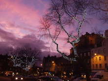 Edinburgh, The Grassmarket at Christmas © Jennifer Romero